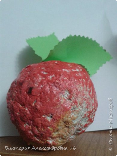 Персик - символ долголетия. Дети сделали его в подарок мамам и папам. фото 5