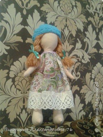 Интерьерная кукла в подарок любимому учителю моего сына  - преподавателю английского языка Ганиной Елене Анатольевне.   фото 8