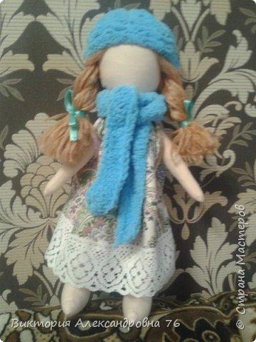 Интерьерная кукла в подарок любимому учителю моего сына  - преподавателю английского языка Ганиной Елене Анатольевне.   фото 9
