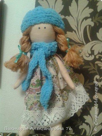 Интерьерная кукла в подарок любимому учителю моего сына  - преподавателю английского языка Ганиной Елене Анатольевне.   фото 14