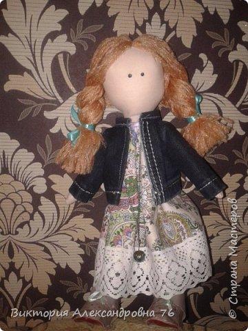 Интерьерная кукла в подарок любимому учителю моего сына  - преподавателю английского языка Ганиной Елене Анатольевне.   фото 19