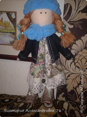 Интерьерная кукла в подарок любимому учителю моего сына  - преподавателю английского языка Ганиной Елене Анатольевне.   фото 21