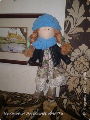 Интерьерная кукла в подарок любимому учителю моего сына  - преподавателю английского языка Ганиной Елене Анатольевне.   фото 22