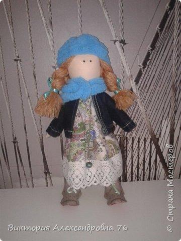 Интерьерная кукла в подарок любимому учителю моего сына  - преподавателю английского языка Ганиной Елене Анатольевне.   фото 23