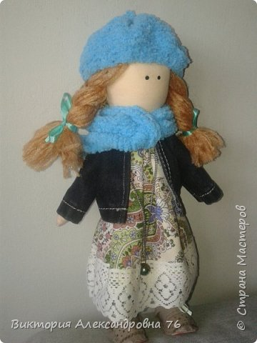 Интерьерная кукла в подарок любимому учителю моего сына  - преподавателю английского языка Ганиной Елене Анатольевне.   фото 25