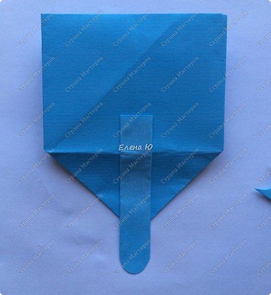 Предлагаю к знаменательному для всех событию сложить такой портфельчик в технике оригами:  фото 17
