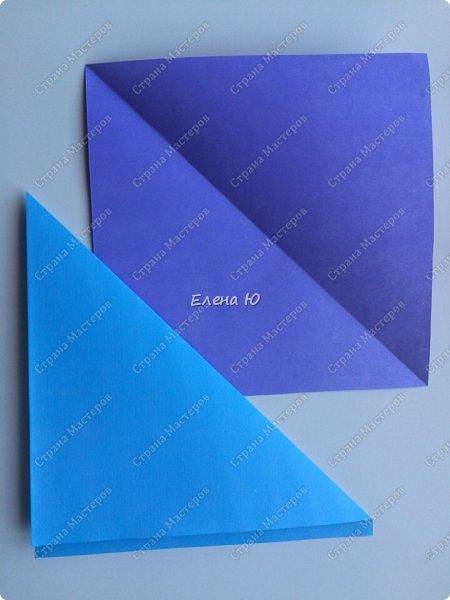 Предлагаю к знаменательному для всех событию сложить такой портфельчик в технике оригами:  фото 3
