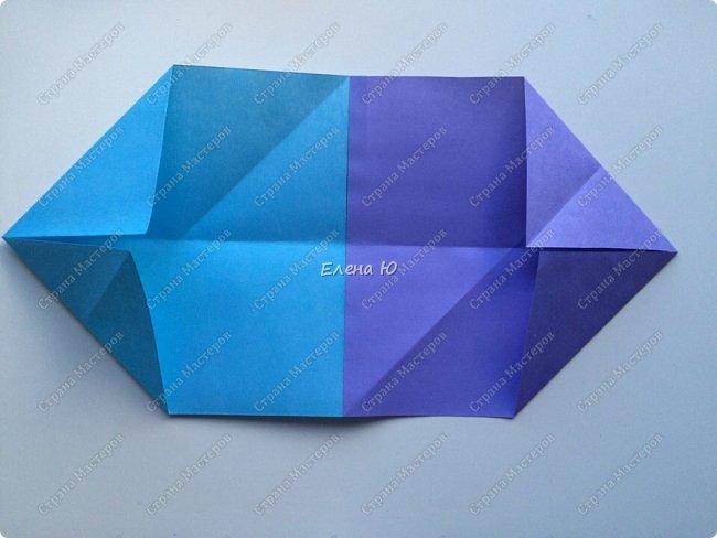 Предлагаю к знаменательному для всех событию сложить такой портфельчик в технике оригами:  фото 5
