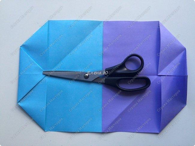 Предлагаю к знаменательному для всех событию сложить такой портфельчик в технике оригами:  фото 6