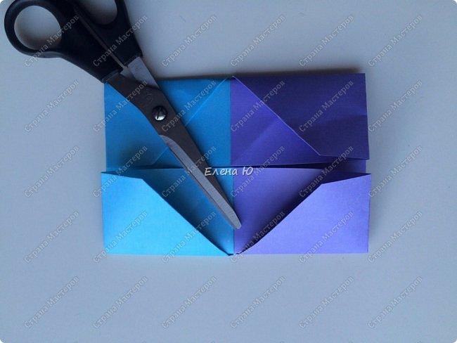 Предлагаю к знаменательному для всех событию сложить такой портфельчик в технике оригами:  фото 9