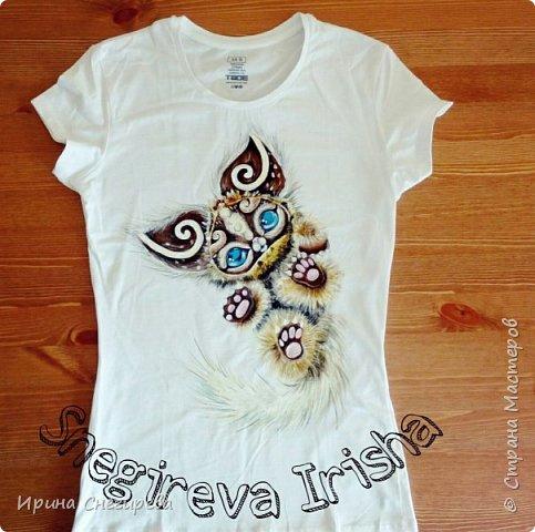 Ручная роспись одежды фото 3