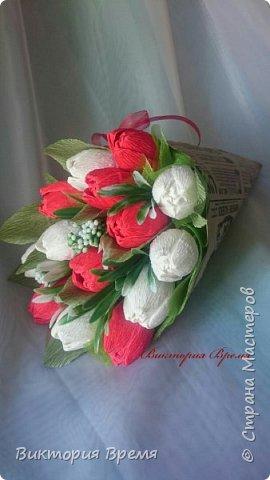 Тюльпаны в кульке  фото 1