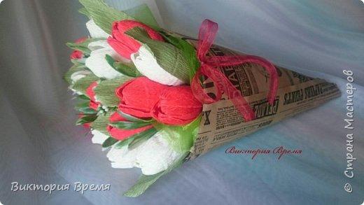Тюльпаны в кульке  фото 2