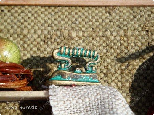 Очень люблю стиль рустик. Еще привлекает миниатюра. Вдохновилась работами одной мастерицы, вот, какой результат получился фото 12