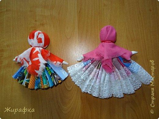 С кружевами кукла Оксаны, а моя без кружев, но яркая. фото 2