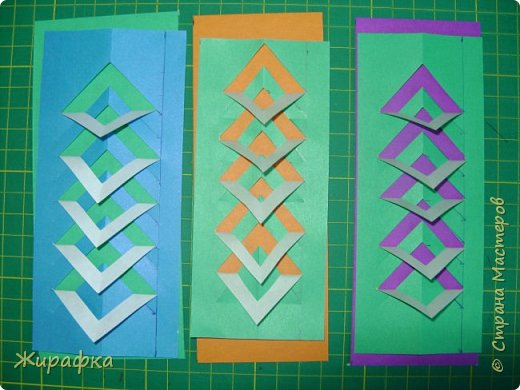 Вот такие закладки мы делали в те далёкие времена, когда деревья были большими, а я училась в начальной школе. фото 18