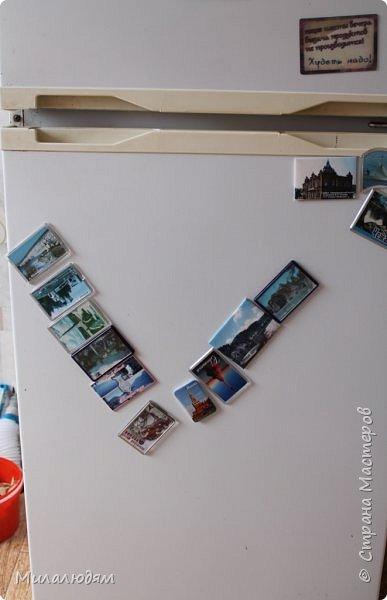 """Продолжение спринтерского бега. Эта открыточка тоже для участницы ансамбля """"Сударушка"""". Васса Ивановна ходила в ансамбль с самого его рождения.  12 лет она была солисткой ансамбля, нынче по состоянию здоровья не ходит. Но я все равно для нее сделала открыточку, а Сударушки пошли поздравлять Вассу Ивановну и отнесли ей мой подарочек. фото 25"""