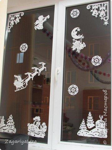 Новогоднее окно