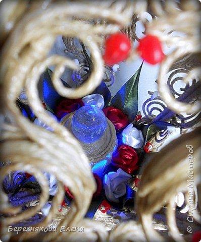 Всем приветы))) Нынче на повестке дня фонарик. Он  у меня пятиугольный, собран на каркасе из деревянных шпажек, детали созданы с помощью шпагата и клея. В общем-то всё как всегда)))  Если что-то будет интересно узнать, спрашивайте. Помогу, чем смогу)))  фото 11