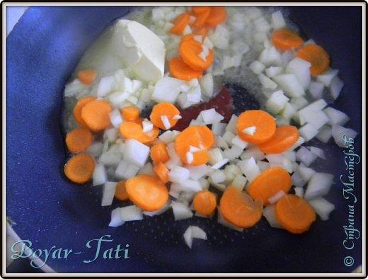 Очень люблю супы-пюре) Решила сделать супчик с кабачками)Получается вкусно,сытно и нежно) фото 3
