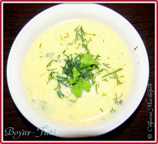 Очень люблю супы-пюре) Решила сделать супчик с кабачками)Получается вкусно,сытно и нежно) фото 1