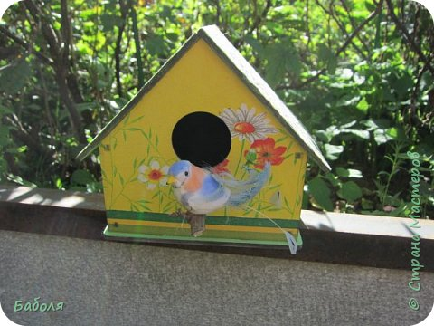 Птичьи домики фото 4