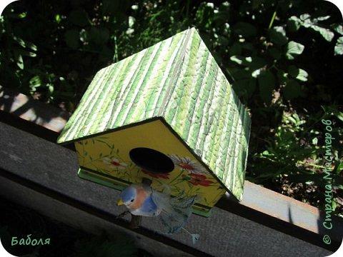 Птичьи домики фото 5