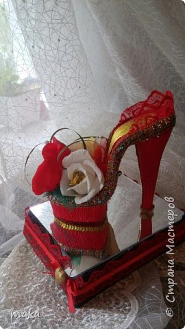 Красная туфелька фото 3