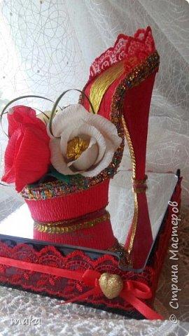 Красная туфелька фото 1