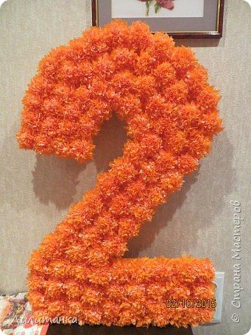 Всем привет. Сегодня начну с поделок ко второму дню рождения моего сына. День рождения был в оранжевом цвете (у нас радуга планируется первые 7 лет).   Книга пожеланий. Все простенько, как я люблю)  фото 3