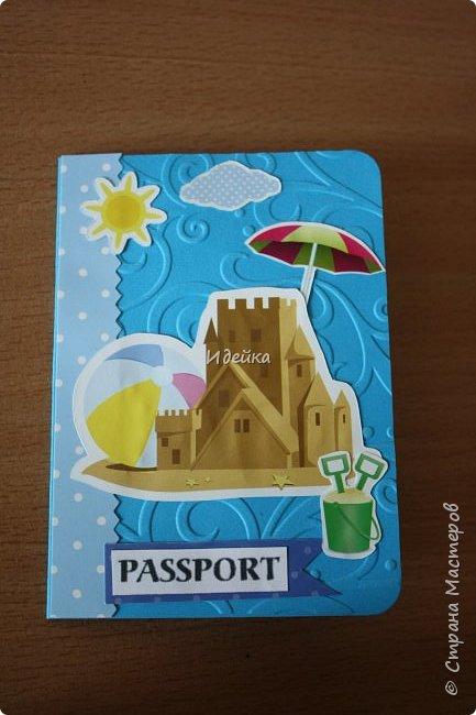 Понравилось мне делать обложки на паспорт для детей. Для мальчика. фото 1
