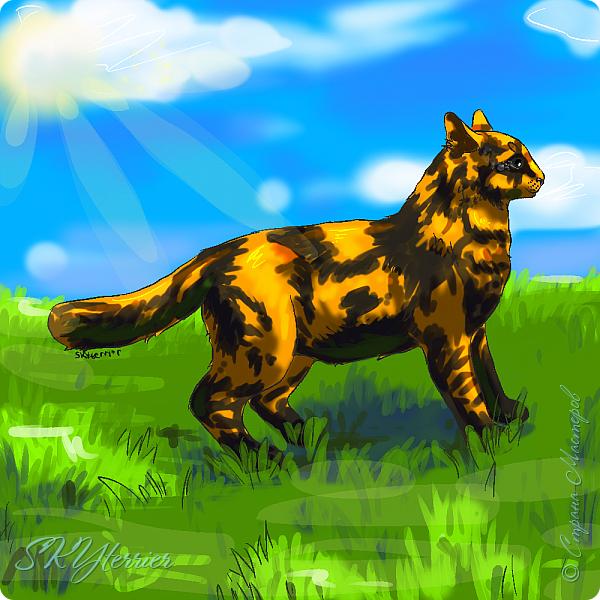 У меня маленькая радость - подарили графический планшет! :) Странно, но я пока рисовала на компьютере только кошек и собак... Сама не знаю почему))) фото 5