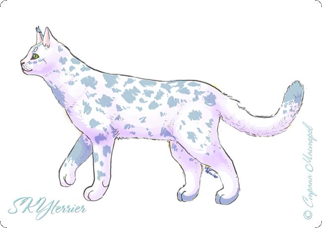 У меня маленькая радость - подарили графический планшет! :) Странно, но я пока рисовала на компьютере только кошек и собак... Сама не знаю почему))) фото 6