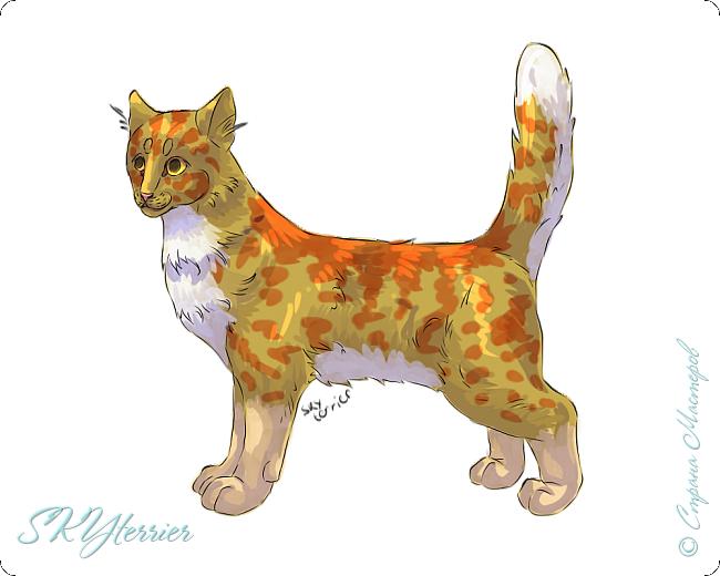 У меня маленькая радость - подарили графический планшет! :) Странно, но я пока рисовала на компьютере только кошек и собак... Сама не знаю почему))) фото 7