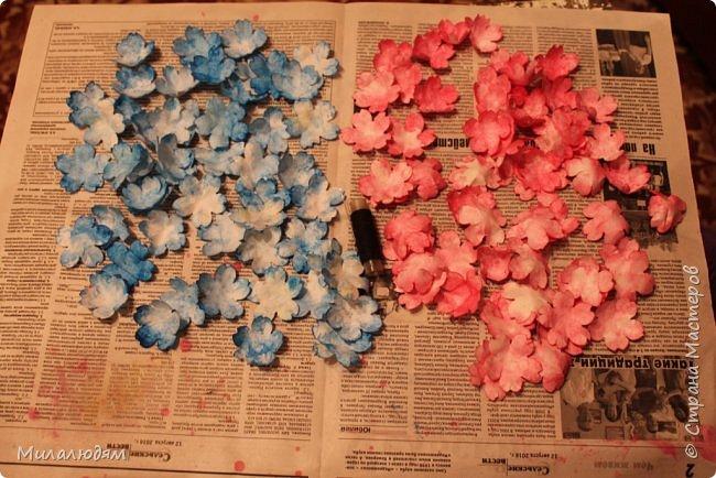 Здравствуйте! Еще одна летне-осенняя открыточка. С моими непонятно какого сорта цветами. фото 18