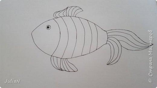 Мой первый рисунок в технике зентангл  фото 2