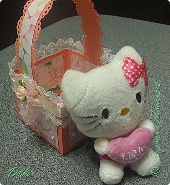 корзиночка с котиком фото 5