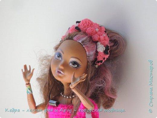 """Здравствуй, СМ! Сегодня я сдаю работу на конкурс """"Мисс Кукольная Жизнь"""" вот ссылка  http://stranamasterov.ru/node/1046432.  В моей работе кедра показывает платье. Надеюсь, оно ей идет. Кедра  в первый раз участвует в конкурсе. Ну, хватет болтать давайте смотреть: фото 1"""