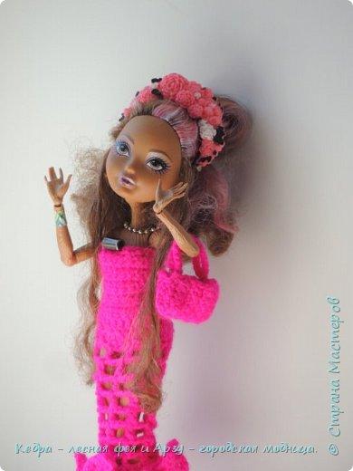 """Здравствуй, СМ! Сегодня я сдаю работу на конкурс """"Мисс Кукольная Жизнь"""" вот ссылка  http://stranamasterov.ru/node/1046432.  В моей работе кедра показывает платье. Надеюсь, оно ей идет. Кедра  в первый раз участвует в конкурсе. Ну, хватет болтать давайте смотреть: фото 3"""