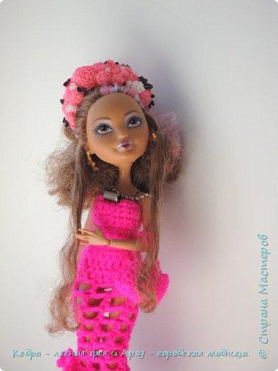 """Здравствуй, СМ! Сегодня я сдаю работу на конкурс """"Мисс Кукольная Жизнь"""" вот ссылка  http://stranamasterov.ru/node/1046432.  В моей работе кедра показывает платье. Надеюсь, оно ей идет. Кедра  в первый раз участвует в конкурсе. Ну, хватет болтать давайте смотреть: фото 4"""