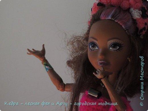 """Здравствуй, СМ! Сегодня я сдаю работу на конкурс """"Мисс Кукольная Жизнь"""" вот ссылка  http://stranamasterov.ru/node/1046432.  В моей работе кедра показывает платье. Надеюсь, оно ей идет. Кедра  в первый раз участвует в конкурсе. Ну, хватет болтать давайте смотреть: фото 6"""
