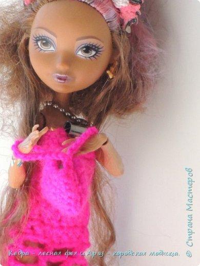 """Здравствуй, СМ! Сегодня я сдаю работу на конкурс """"Мисс Кукольная Жизнь"""" вот ссылка  http://stranamasterov.ru/node/1046432.  В моей работе кедра показывает платье. Надеюсь, оно ей идет. Кедра  в первый раз участвует в конкурсе. Ну, хватет болтать давайте смотреть: фото 7"""
