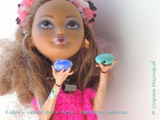 """Здравствуй, СМ! Сегодня я сдаю работу на конкурс """"Мисс Кукольная Жизнь"""" вот ссылка  http://stranamasterov.ru/node/1046432.  В моей работе кедра показывает платье. Надеюсь, оно ей идет. Кедра  в первый раз участвует в конкурсе. Ну, хватет болтать давайте смотреть: фото 8"""