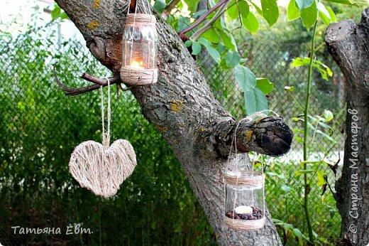 Фонарики в вечернем саду своими руками! :) Дачный сезон не заканчивается! ;) Это романтично, уютно и очень мило!  фото 1