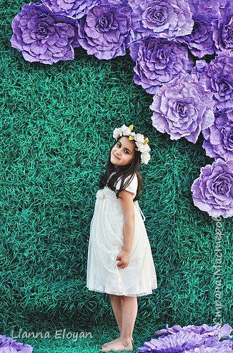 Цветы  с диаметром 45см 120штук  для фотопроекта Анастасии Панеевой  https://vk.com/paneeva фото 14