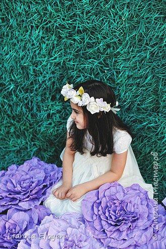 Цветы  с диаметром 45см 120штук  для фотопроекта Анастасии Панеевой  https://vk.com/paneeva фото 17