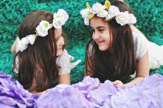 Цветы  с диаметром 45см 120штук  для фотопроекта Анастасии Панеевой  https://vk.com/paneeva фото 20