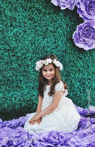 Цветы  с диаметром 45см 120штук  для фотопроекта Анастасии Панеевой  https://vk.com/paneeva фото 23