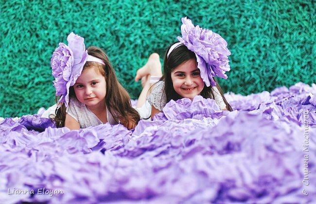 Цветы  с диаметром 45см 120штук  для фотопроекта Анастасии Панеевой  https://vk.com/paneeva фото 24