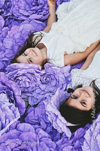 Цветы  с диаметром 45см 120штук  для фотопроекта Анастасии Панеевой  https://vk.com/paneeva фото 26
